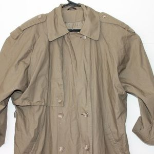 Anne Klein Rainwear Women's Vintage Trench Coat